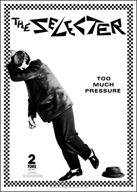The Selecter Too Much Pressure Poster